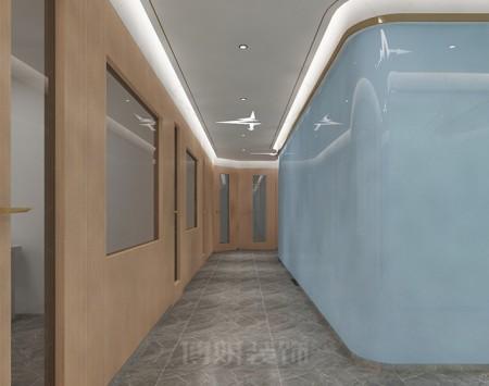 杭州纳思教育机构装修设计
