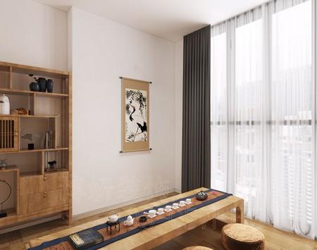 杭州中式瑜伽馆装修设计