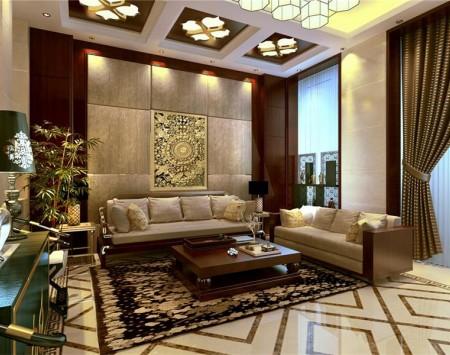 金东别墅中式风格装修设计