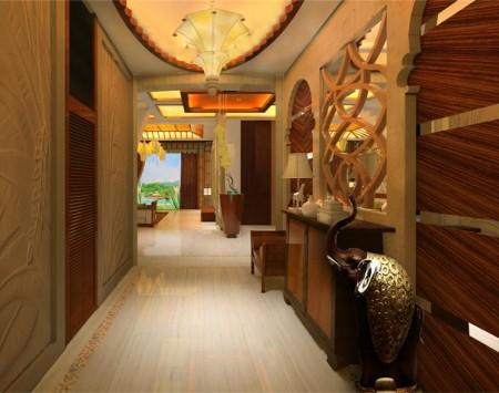 仙源别墅东南亚风格装修设计