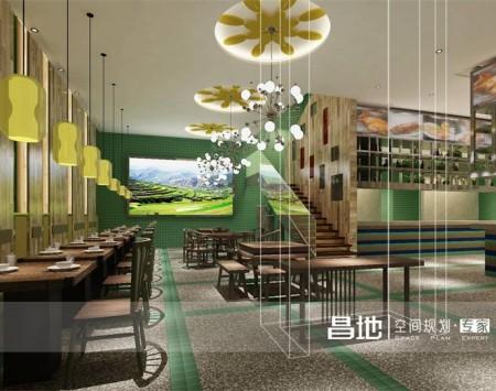 优米阳光餐厅装修设计