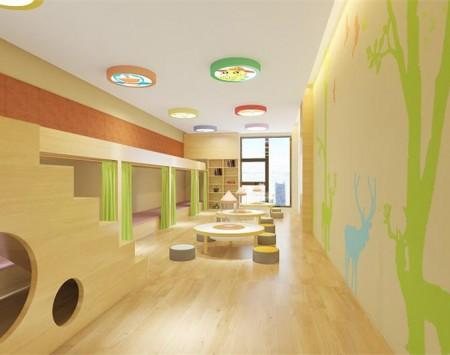 现代风格星睿国际亲子园装修设计