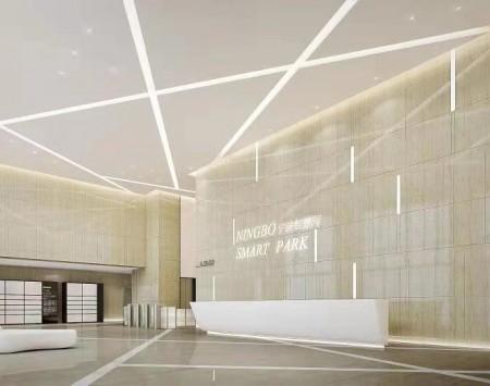 宁波智慧园办公空间装修设计效果图