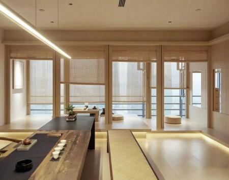 上海商务茶室装修设计