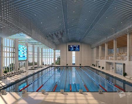 上海游泳馆装修设计