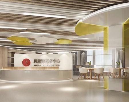 杭州贝思特艺术中心装修设计效果图