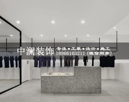 品牌服装店装修设计效果图