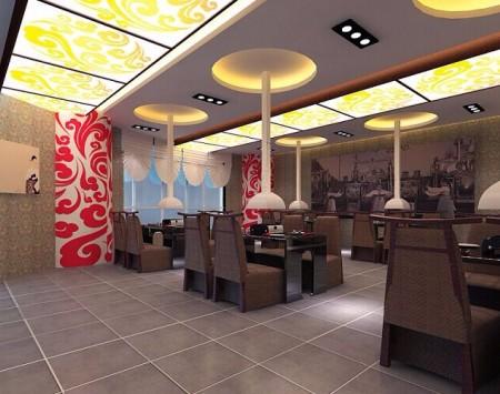 韩式烧烤餐厅装修设计效果图