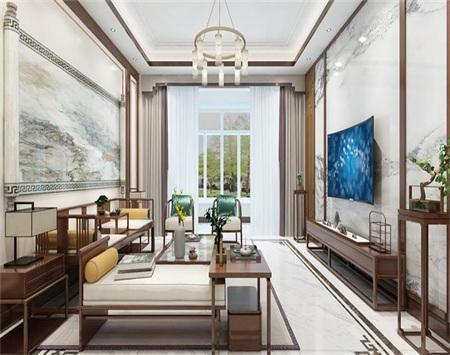 保利海上罗兰室内空间装修设计