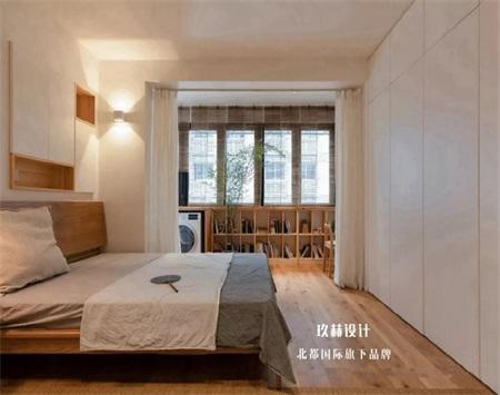 58平日式小两居装修设计效果图