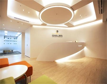 科耐欧贸易办公室装修设计
