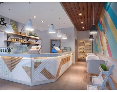 奶茶店装修设计风格