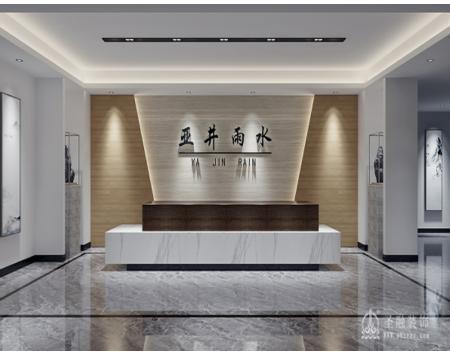 合肥华润大厦B座办公室装修设计