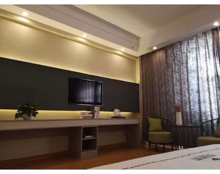 轻奢风酒店装修设计效果图