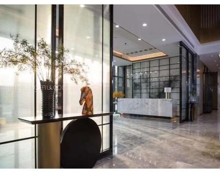 天津现代风办公室装修设计效果图