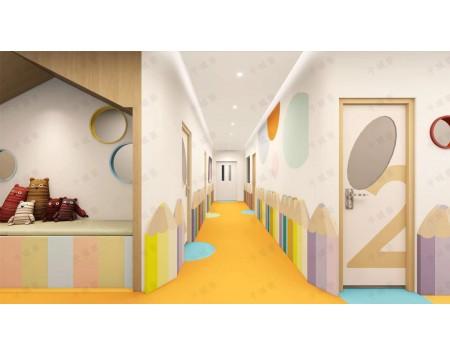 幼儿园——色彩明亮,跳跃,富有童真