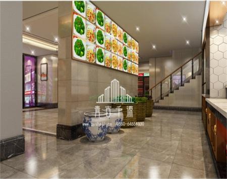 少荃府餐饮店轻奢风格装修设计