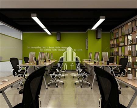 丽瘦电子商务办公室内装修