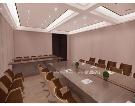 会议办公室装修设计效果图