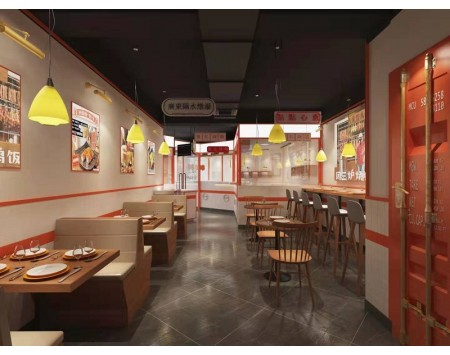 餐饮店装修设计风格