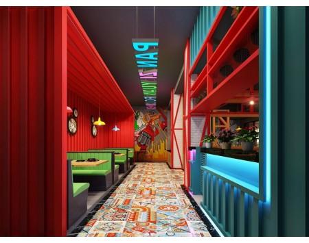 特色餐厅装修设计效果图