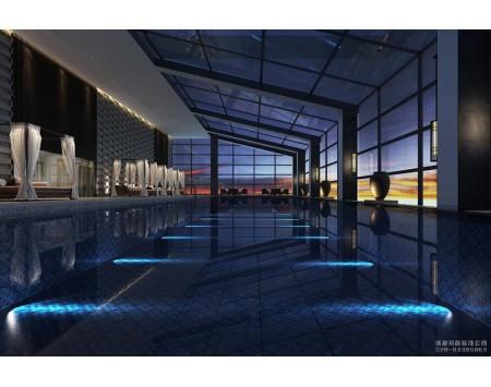 酒店游泳池设计装修效果图
