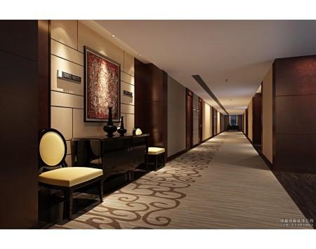 酒店走廊过道设计装修效果图